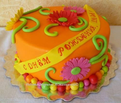 Яркий яркий торт торты на все случаи